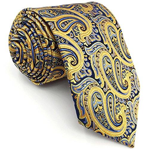 Yellow Paisley Tie - 1