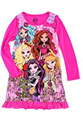 Ever After High Girls Poly Nightgown Pajamas