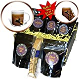 3dRose Alexis Photography - Food Honey - Decorative wooden spoon in a liquid honey of brown color - Coffee Gift Baskets - Coffee Gift Basket (cgb_271878_1)