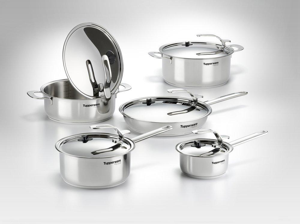 TUPPERWARE Chef Serie Gourmet-Linie Cacerola 2,8 L incl. Tapa de ...