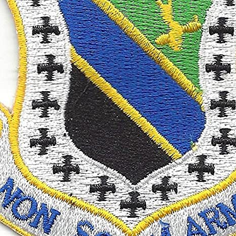 """Air Force 3rd Fighter Wing Shield Patch 3/"""" x 3/"""" DS11800"""
