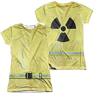 Amazon.com  Hazmat Suit Women s Sublimated T Shirt  Clothing 40d59575fd