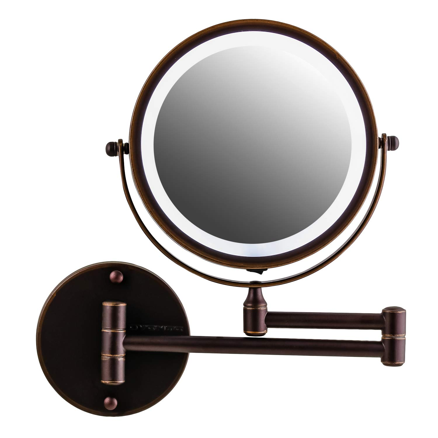 The Best wall mount magnifying makeup mirror with light - Our pick