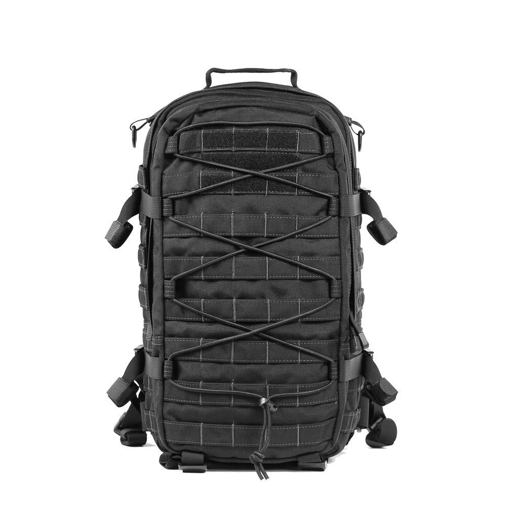 軍用戦術的なバックパック, 耐水性ナイロンリュックサック大容量屋外ハイキングデイパック通気性キャンピング登山バッグ 70*35*20cm D B07LDBS72W
