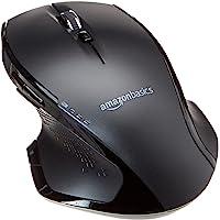 Ergonomische draadloze muis van Amazon Basics met snel scrollen-functie, volledige grootte