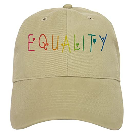4190056eb9c4a CafePress - Equality Baseball Cap - Baseball Cap with Adjustable Closure
