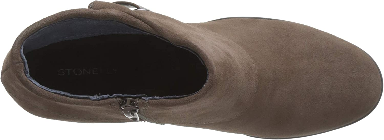 Stonefly Oprah Velour, Bottes Classiques Femme Marron Teak Brown M29