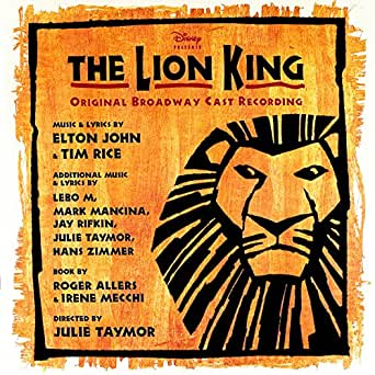 The Lion King: Original Broadway Cast Recording by Various