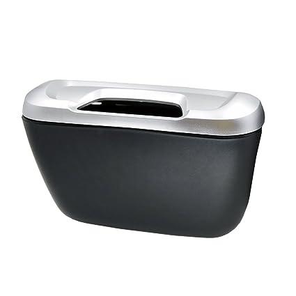 Auto Car vehicle Mini Trash Rubbish Can Garbage Dust Case Holder Box Bin