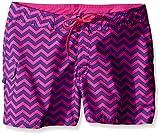 Kanu Surf Big Girls' Alexa Boardshorts, Purple, Large (12-14)