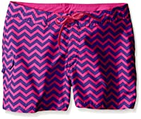 Kanu Surf Big Girls' Alexa Boardshorts, Purple, X-Large (16)