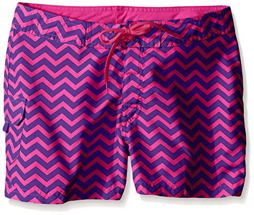 Kanu Surf Big Girls Alexa Boardshorts, Purple, Medium (8/10)