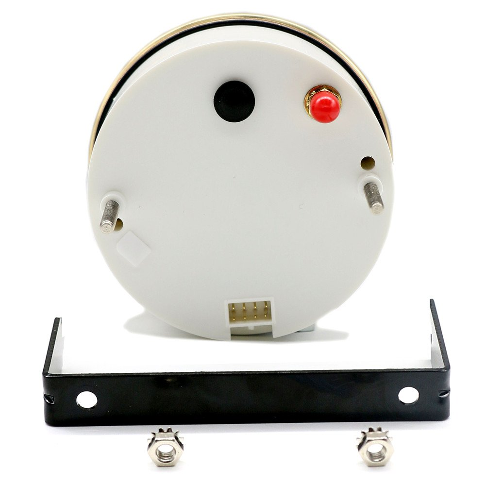 Autool 85/mm GPS veloc/ímetro impermeable inoxidable calibre 120/km//h velocidad para coche cami/ón 12/V 24/V