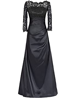 OYISHA Womens V-Neck Sheath Mother of The Bride Lace Cocktail Dress MD003