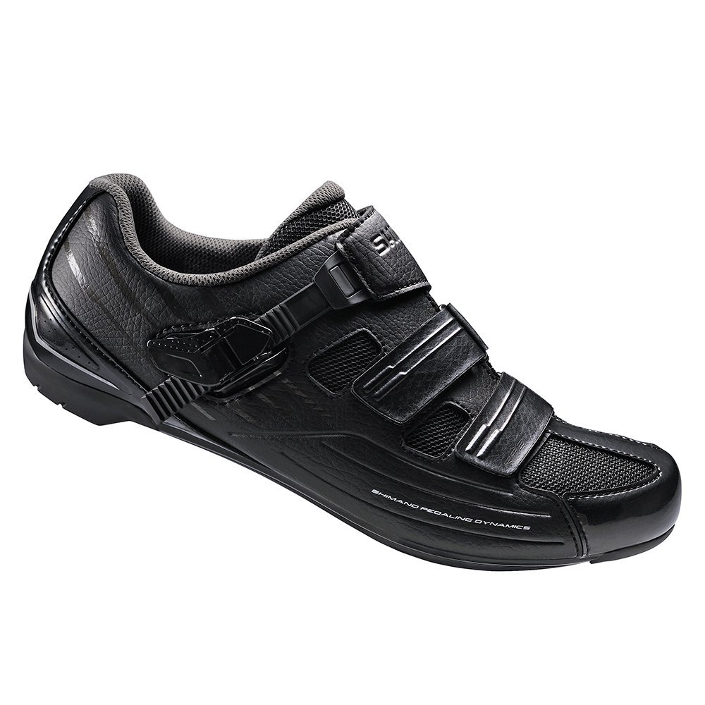 Shimano Men's RP3 Black Road Cycling Shoes - 43