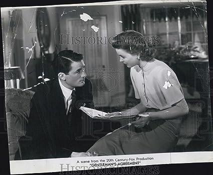 Amazon 1948 Press Photo Gregory Peck Dorothy Mcguire Actress