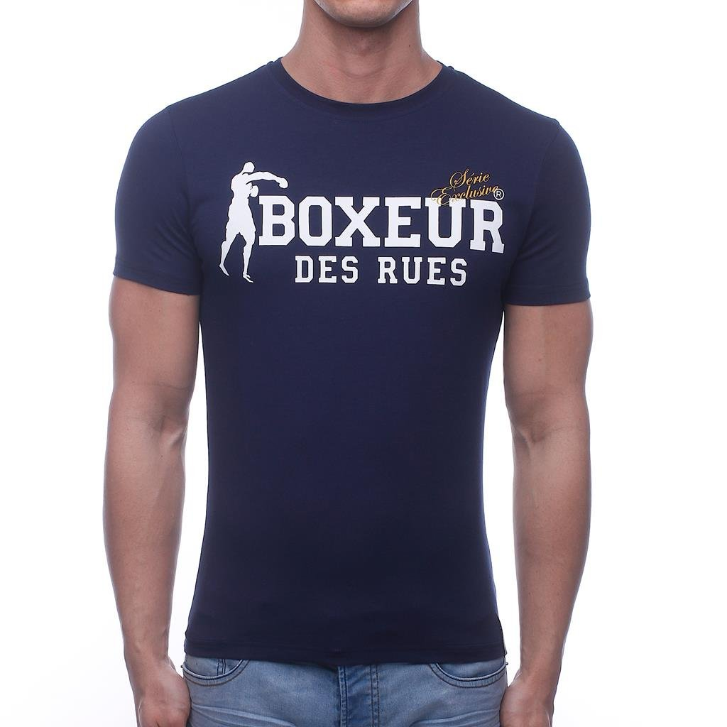 Boxeur Des Rues Sèrie Exclusive Camiseta Diseño de la Bandera de ...