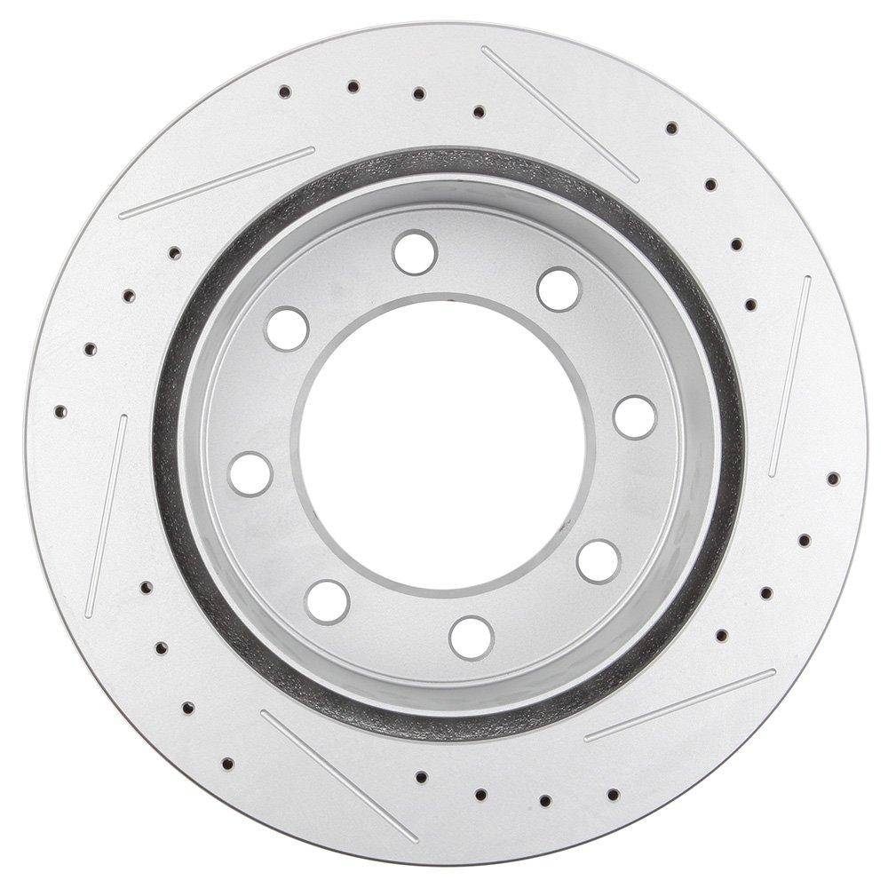 Eccpp 4pcs Slotted Drilled Rotors And 8pcs Ceramic Pads Ford Sport Trac Fuel Filter Removal Brake Kit For Chevy Silverado 2500hdchevy 3500chevy 3500hdgmc