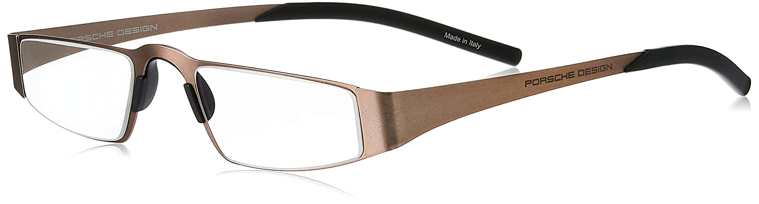 8da6ba501df5 Amazon.com  Porsche Design Men s Eyeglasses P8811 P 8811 C Gold Black Reading  Glasses +1.50  Health   Personal Care
