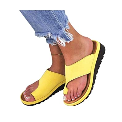 eb792955fa Amazon.com | Women PU Leather Shoes Comfy Platform Flat Sole Ladies ...