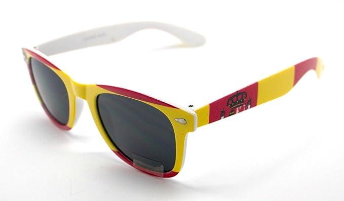 1a53f3dab4 Totalcovers Gafas de Sol Espejo Sunglasses Bandera España: Amazon.es: Ropa  y accesorios
