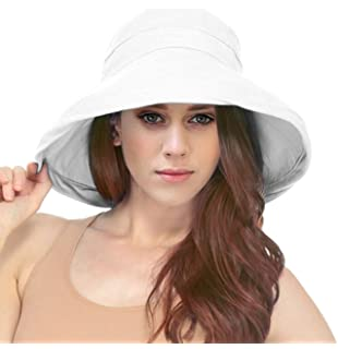 Scala Women s Cotton Hat with Inner Drawstring and Upf 50+ Rating ... 000cab8bf3c7