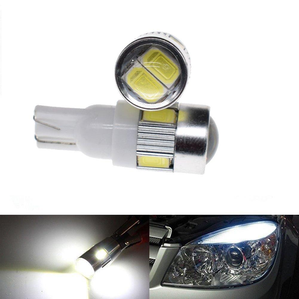 YUEKUI 4pcs Universal Flowing Waterproof Motorcycle Motorbike LED Turn Signal Indicator Amber Light