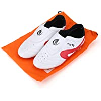 Alomejor Taekwondo Zapatos de Gimnasio Deportivo Unisex Boxeo Karate Trainning Zapatos para Niños Adultos