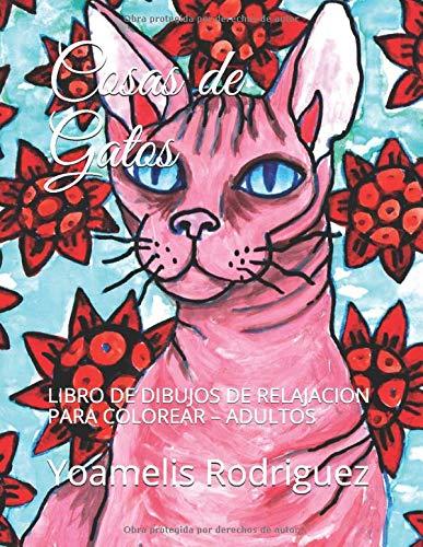 Cosas de Gatos: LIBRO DE DIBUJOS DE RELAJACION PARA COLOREAR ...