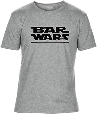 GO HEAVY Camiseta para Fitness Hombres Deporte Tri -Blend | Bar Wars: Amazon.es: Ropa y accesorios
