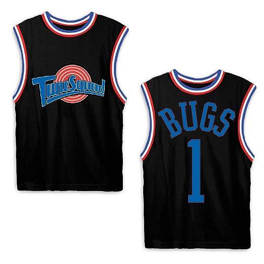 92bc806957a space jam Mens Classic Tank - Tune Squad Michael Jordan & Bugs Bunny Jersey  90's Classic Tank Top