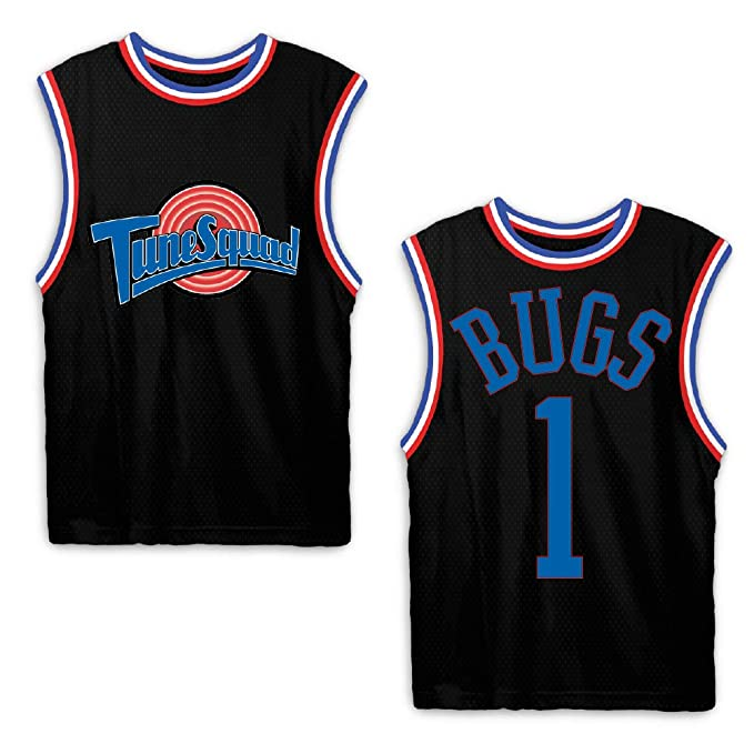 size 40 5b598 63470 space jam Mens Classic Tank - Tune Squad Michael Jordan & Bugs Bunny Jersey  90's Classic Tank Top