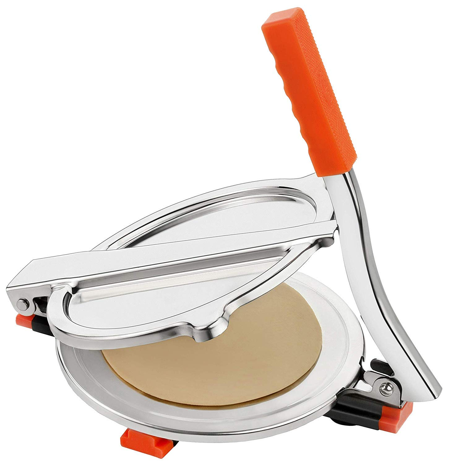 High Grade Stainless Steel Puri Press/Papad Maker/Roti Maker Easy to Use by finaldeals