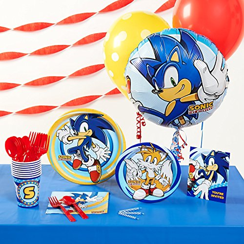 Sonic the Hedgehog Basic Party Pack-As Shown One Size (Sonic The Hedgehog Basic Party Pack)