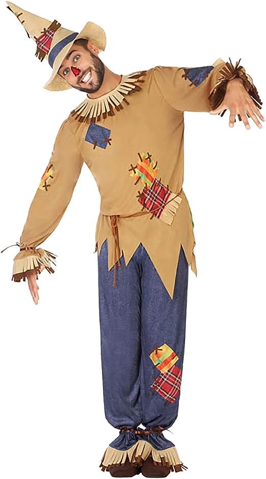 Atosa-54493 Disfraz Espantapájaros, Multicolor, M-L (54493 ...