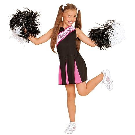 NET TOYS Costume da Cheerleader per Bambine - 111 - 116 cm 5a3bc2f8493