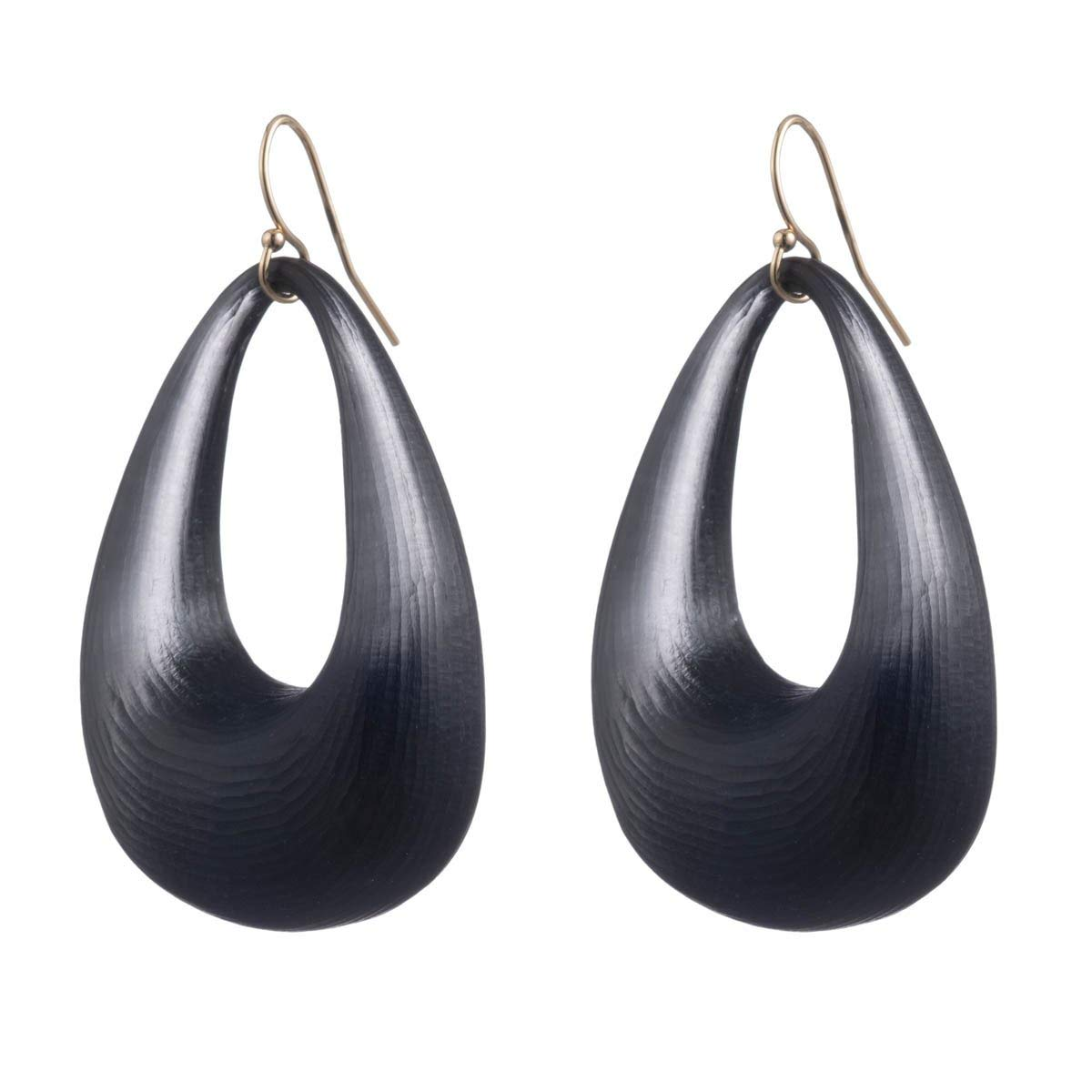 Alexis Bittar Women's Small Tapered Hoop Earring