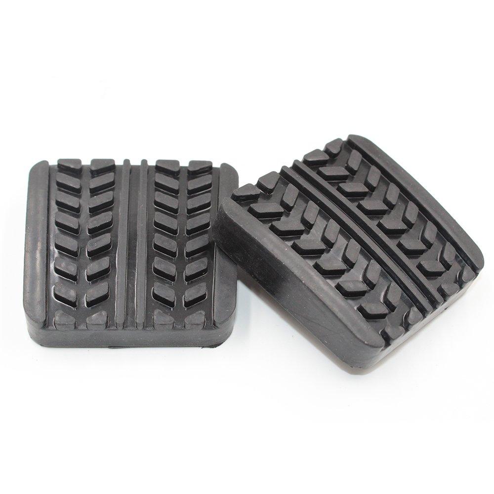 koauto 2pcs Brake Clutch Pedal Pads for MAZDA RX-7 323 626 929 B-SERIES MPV S083-43-028