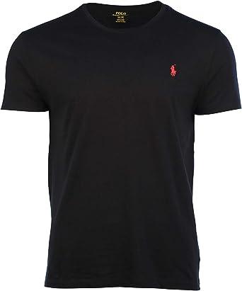 Ralph Lauren Hombre Pony Logo camiseta: Amazon.es: Ropa y accesorios