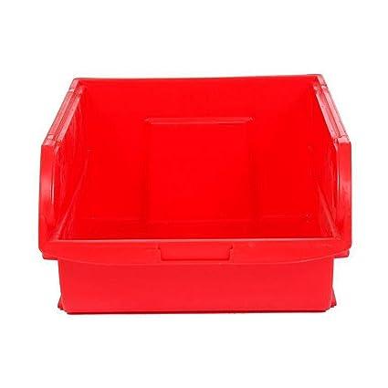 Stanley Caja organizadora abierta, espacio para guardar cosas de 21 litros, roja, 30