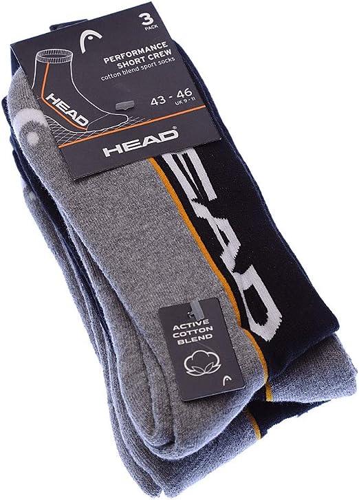 Essentials training crew Handball Coton Reebok Socke /über das Kalb ohne Frotte 3 pack
