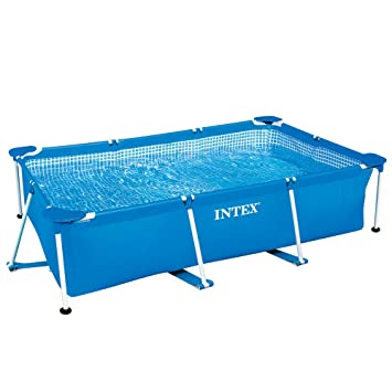 thoughts on multiple colors low price sale INTEX Piscine Metal Frame Junior rectangulaire 2,60 x 1,60 x 0,65 m