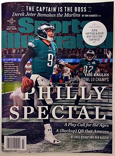SPORTS ILLUSTRATED (SI) MAGAZINE FEB 2018, Philadelphia Eagles Super Bowl - Flat International Rates Usps