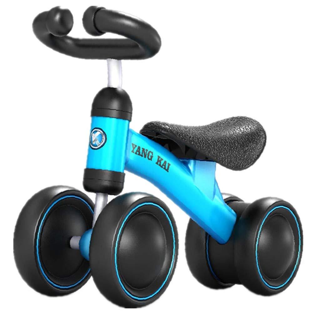 Laufräder Baby Walker Kind Gleiten gleichgewicht Auto Keine fuß-stabilität-Blau 19 Zoll