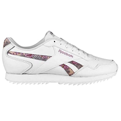 b2547fb45907 Reebok Womens Royal Glide Ripple Trainers  Amazon.co.uk  Shoes   Bags