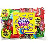 Assorted Candy Party Mix Bulk Bag 3 Lbs Twizzlers Nerds Swedish Fish Sour Patch Skittles Starburst Mike And Ike Gummies and Much More of Your Favorite Treats Individually Wrapped (48 oz)