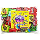 sour candy mix - Assorted Candy Party Mix Bulk Bag 3 Lbs Twizzlers Nerds Swedish Fish Sour Patch Skittles Starburst Mike And Ike Gummies and Much More of Your Favorite Treats Individually Wrapped (48 oz)