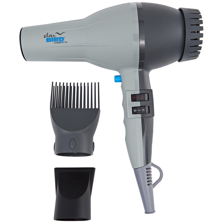 Conair Pro Silver Bird Hair Dryer SB307W