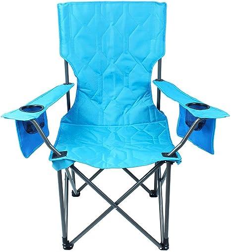 Silla de camping, silla plegable portátil, para camping ...