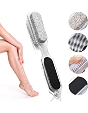 4 in 1 Pumice Stone Callus Remover Pedicure Exfoliation Tool Dead Skin Scrubber for Feet and Hand (p1)